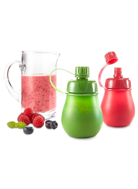 Tchibo 2 Adet Sağlıklı Atıştırmalık Kabı Renkli